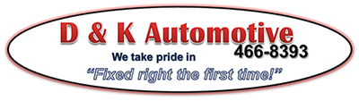 D & K Automotive logo